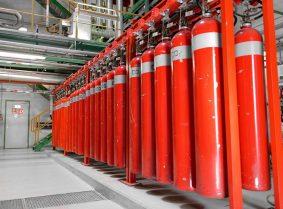 Станции пожаротушения на газопроводах и нефтепроводах