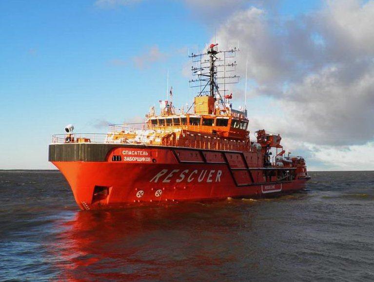Установки пожаротушения морских и речных судов